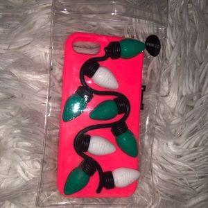 PINK Victoria's Secret lights phone case!!